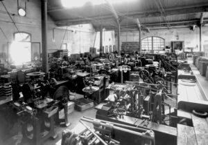 Acca Kappa gyár egykor